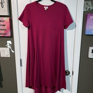 Lularoe Carly Dress Euc